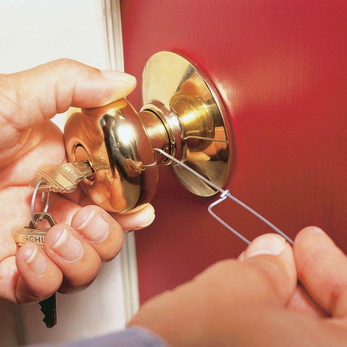 I just got a new apartment. Should I re-key my lock
